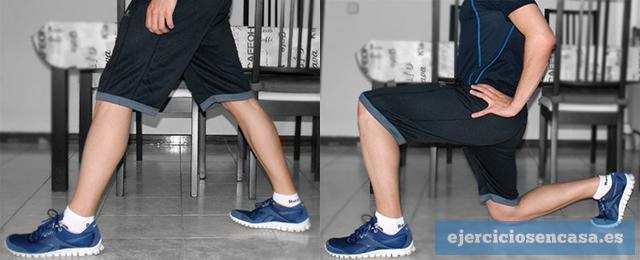 Ejercicios caseros para tus piernas