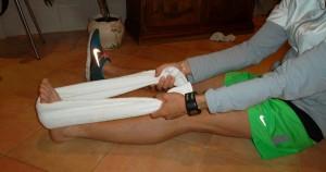 ejercicios en casa con toalla