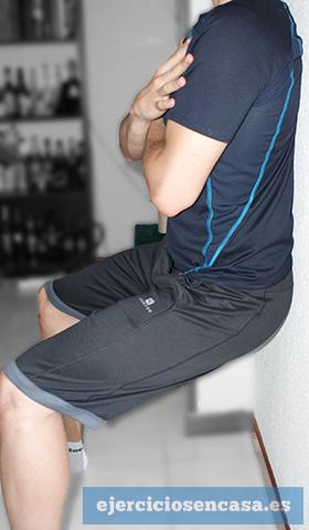Adelgazar las piernas: ejercicios isométricos - Ejercicios