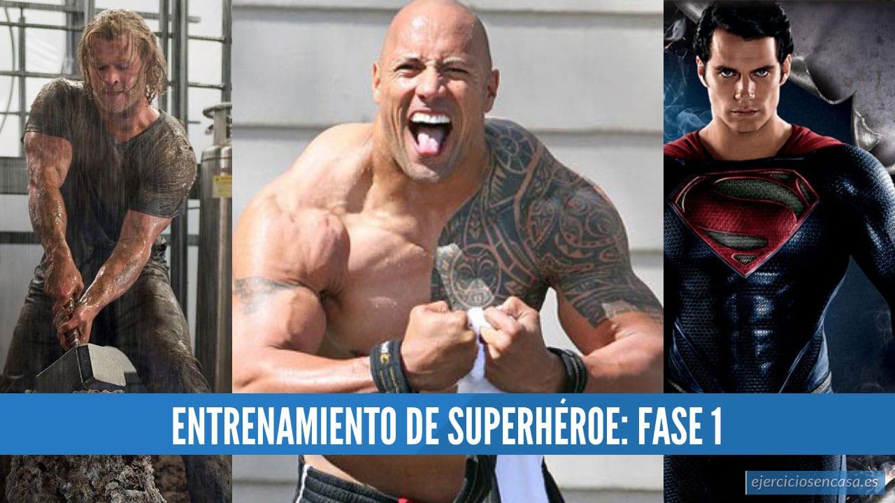 Entrenamiento superheroe fase 1