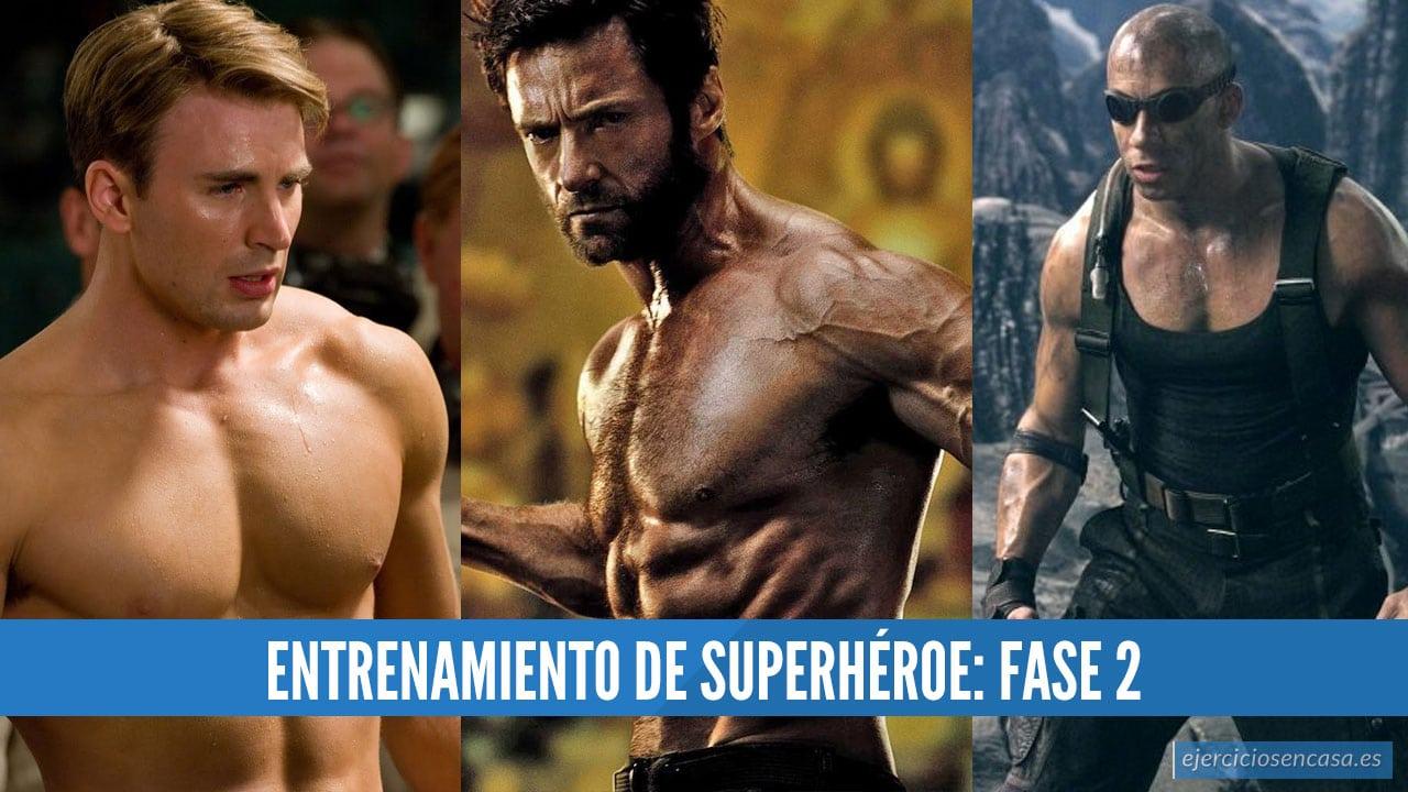 Entrenamiento de Superhéroe Fase 2