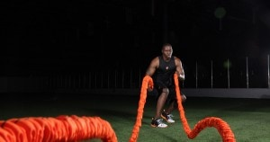 battling ropes ejercicio