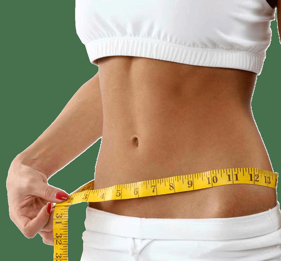 El masaje del vientre ayuda arreglar la capa intermedia de grasa en el vientre