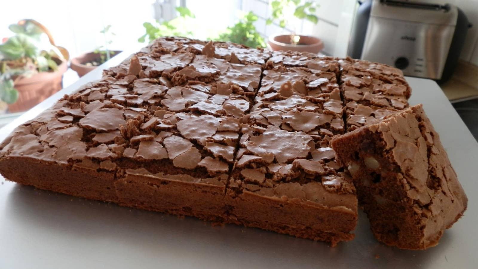 brownie de proteínas casero