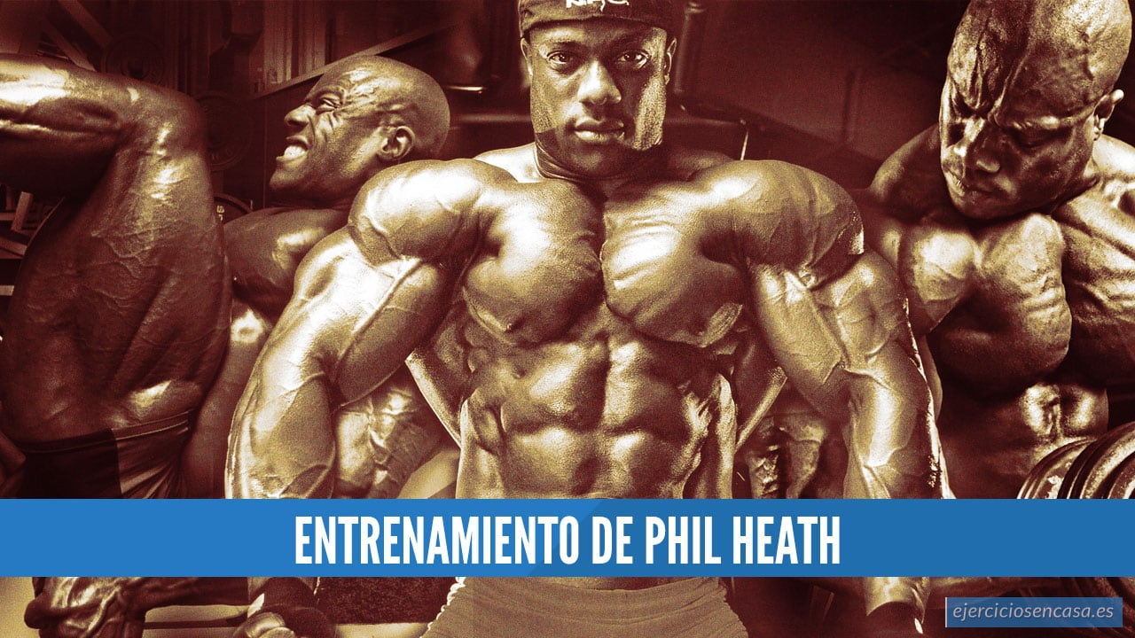 Entrenamiento Phil Heath