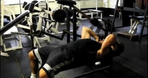 rolling tricep extension