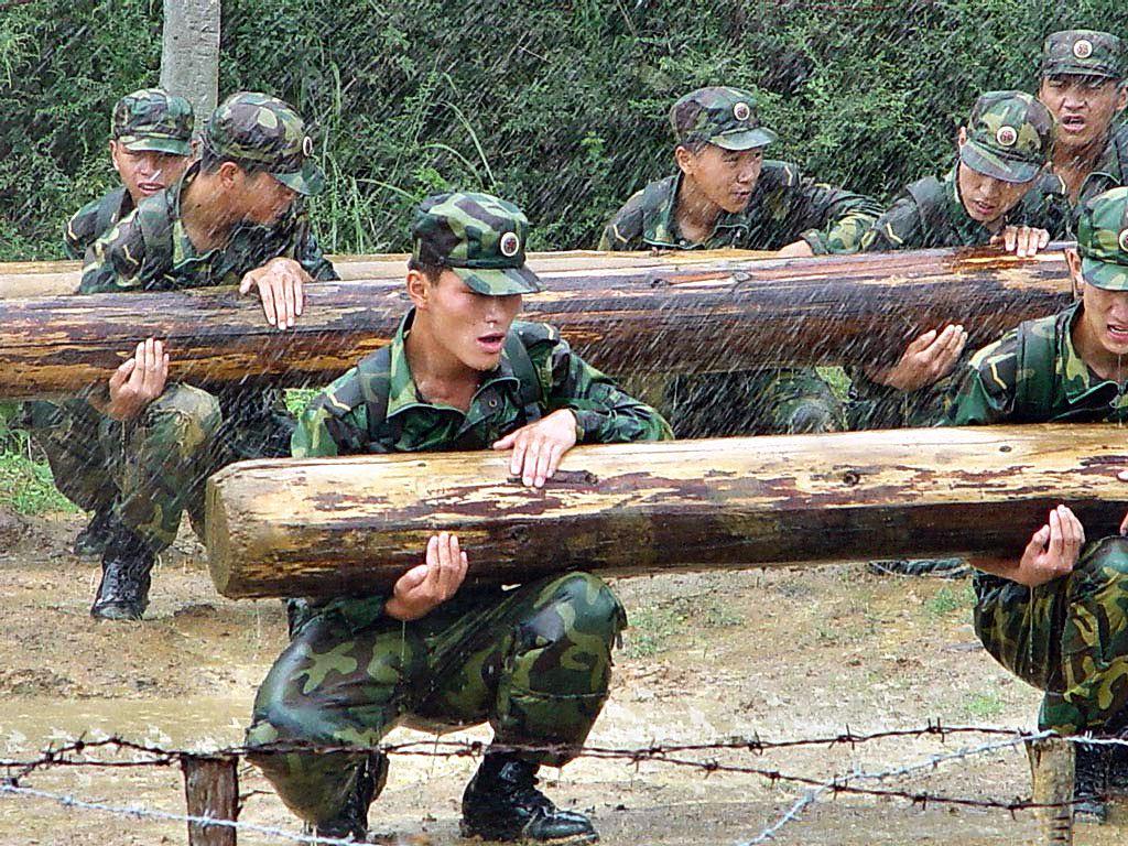rutina de entrenamiento militar