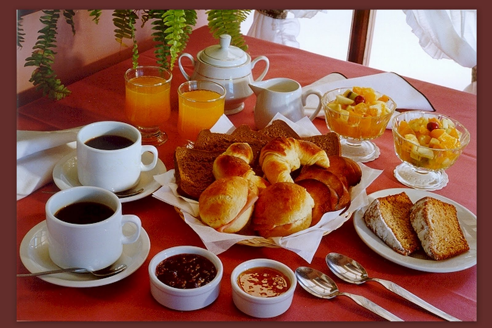 Como Es El Desayuno Tipo Americano