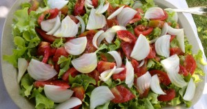 ensalada para perder peso
