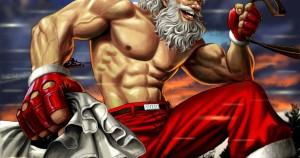 Rutina de ejercicios de Papá Noel