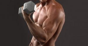 Curl de bíceps con mancuerna
