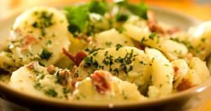 Ensalada Para deportistas patata y huevo