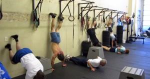 wall climb ejercicio