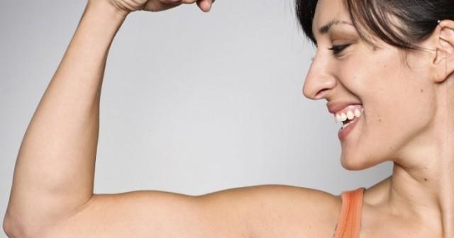 ejercicios para brazos en casa