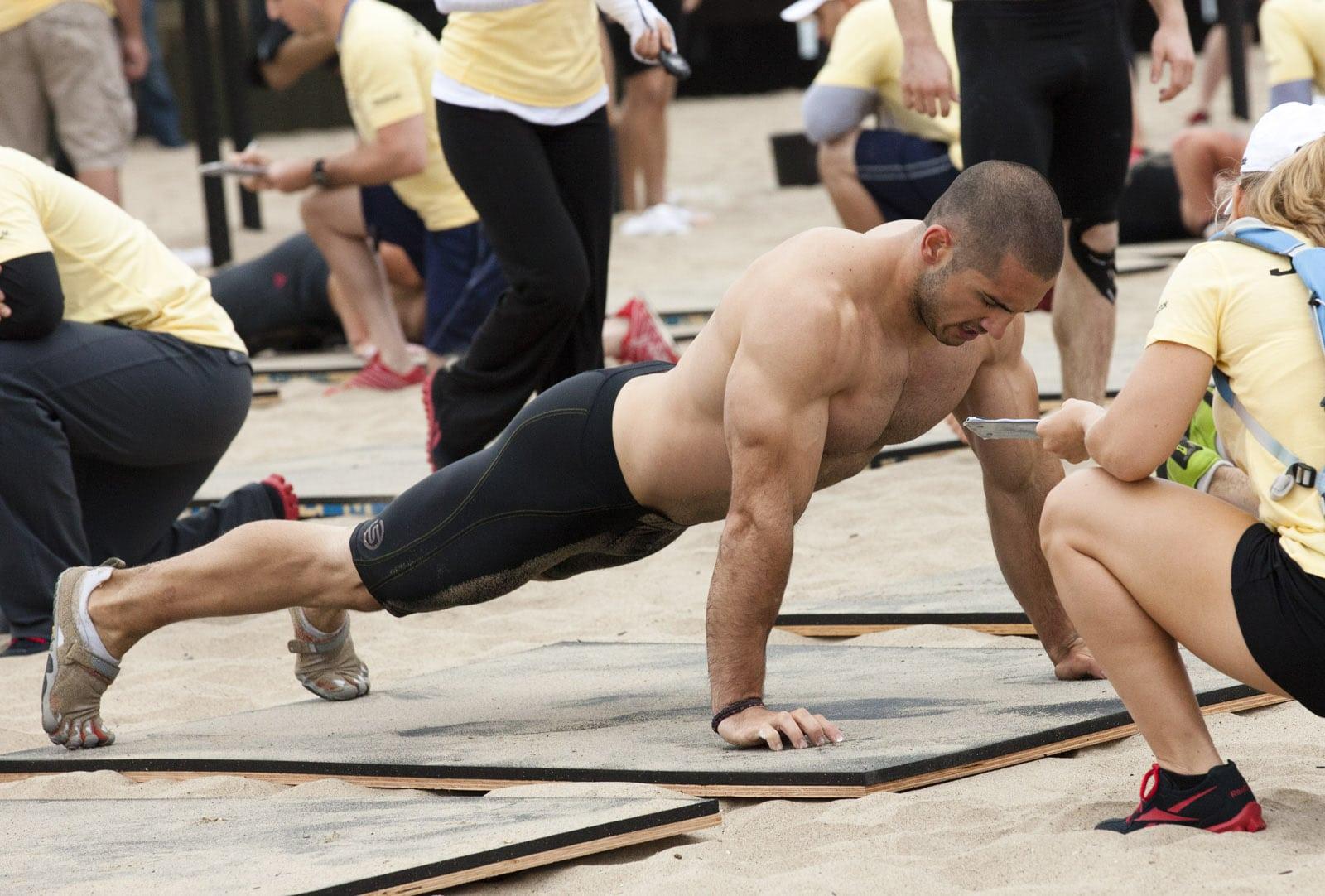 Rutinas de ejercicios de CrossFit