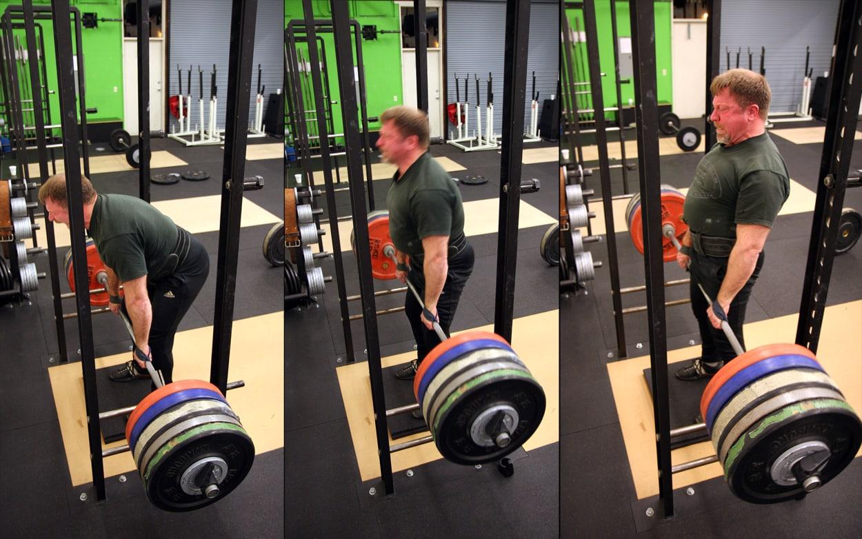 rack pull ejercicio