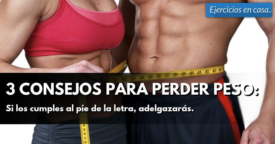 Proceso como bajar de peso en dos semanas haciendo ejercicio Perder Grasa