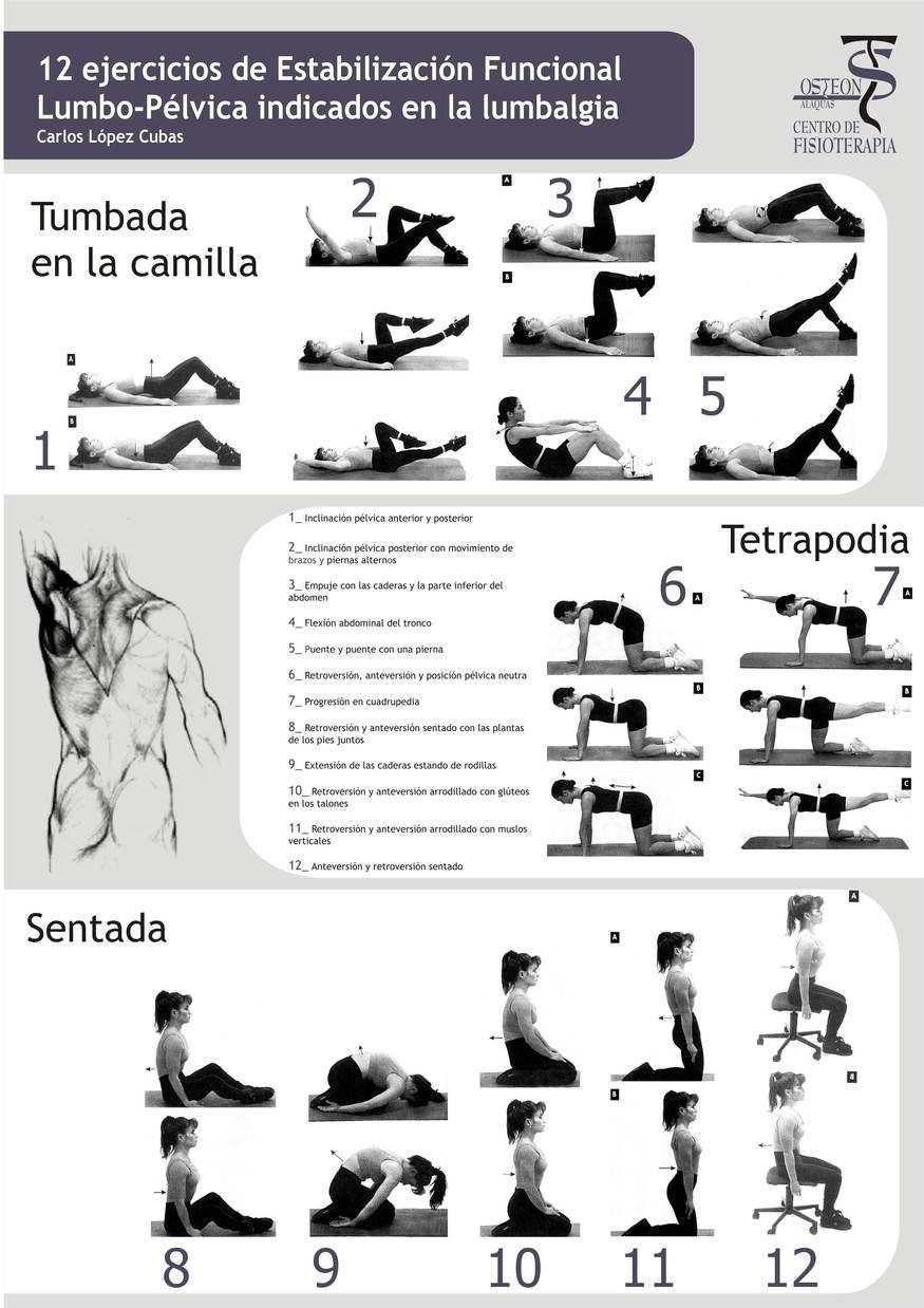 6 Ejercicios para fortalecer la espalda - Ejercicios En Casa