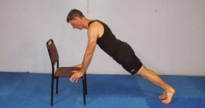 flexiones inclinadas