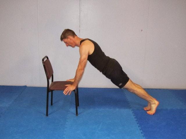 flexiones inclinadas