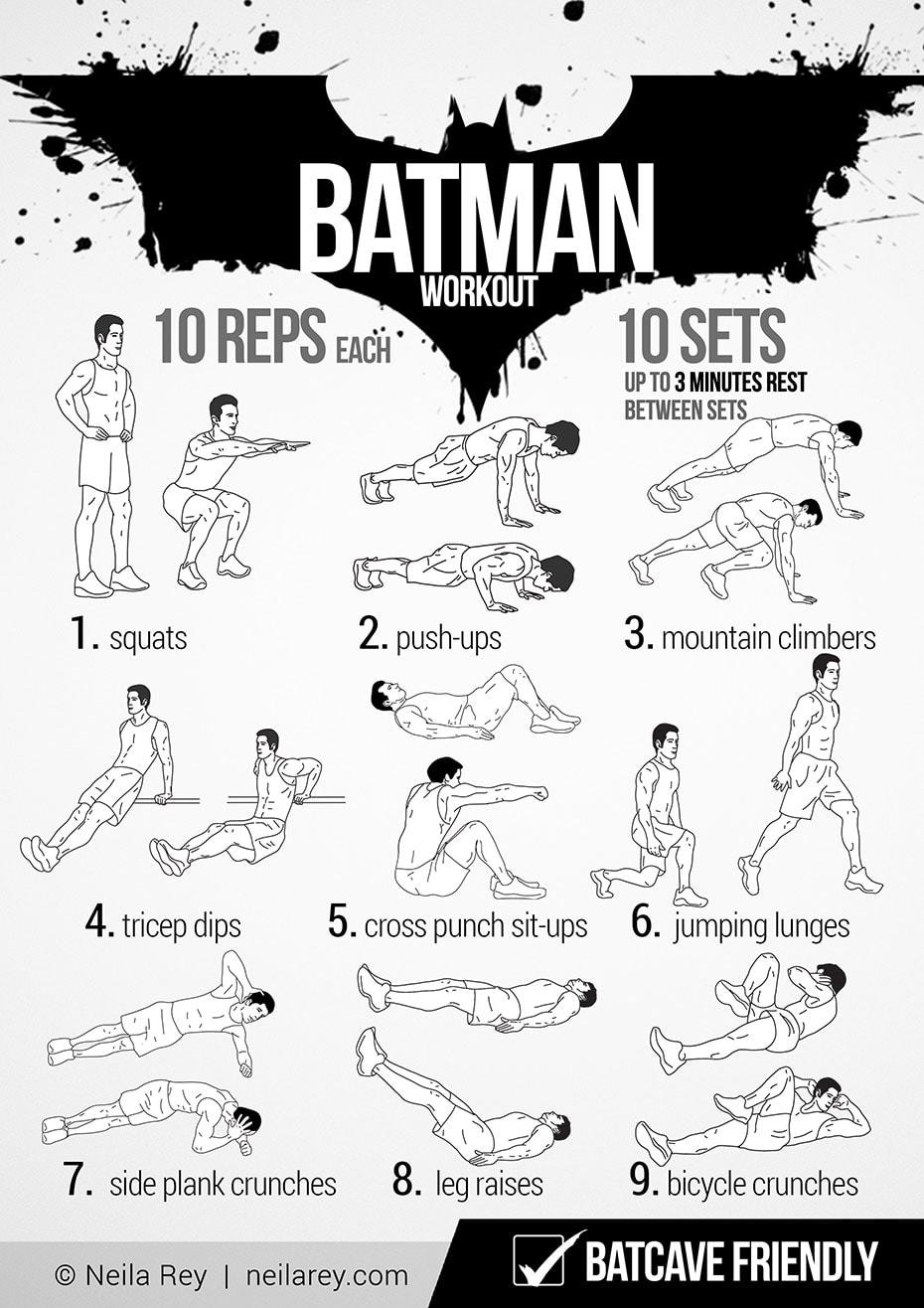 entrenamiento de Batman