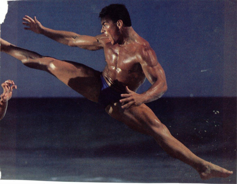 entrenamiento de Van Damme