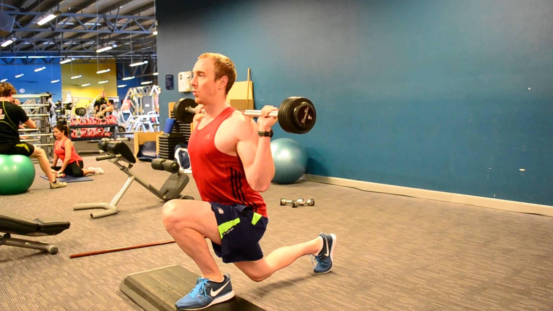 Split con barra ejercicios en casa - Barras de ejercicio para casa ...