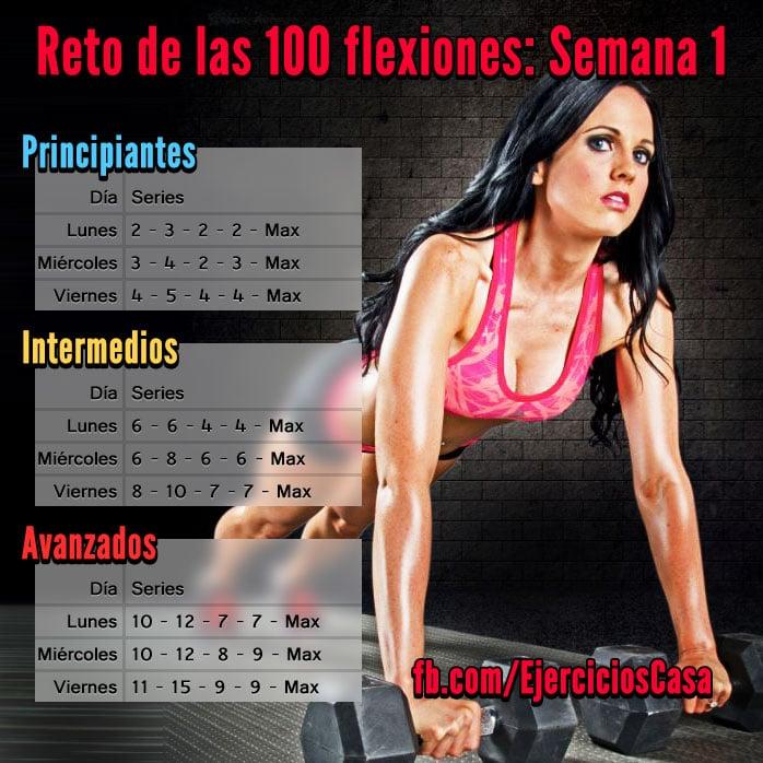 Reto 100 Flexiones Semana 1