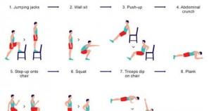 ejercicios físicos en casa