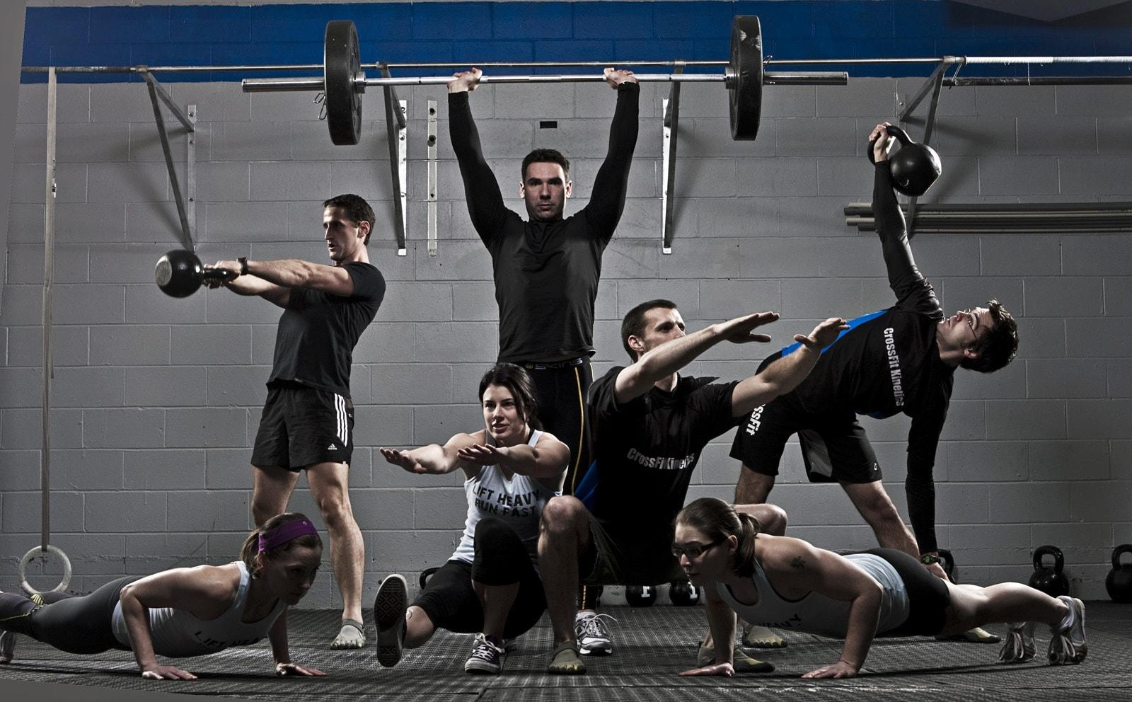 rutina de ejercicios crossfit
