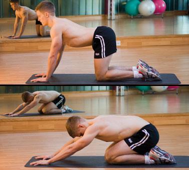 Ejercicios para la espalda baja