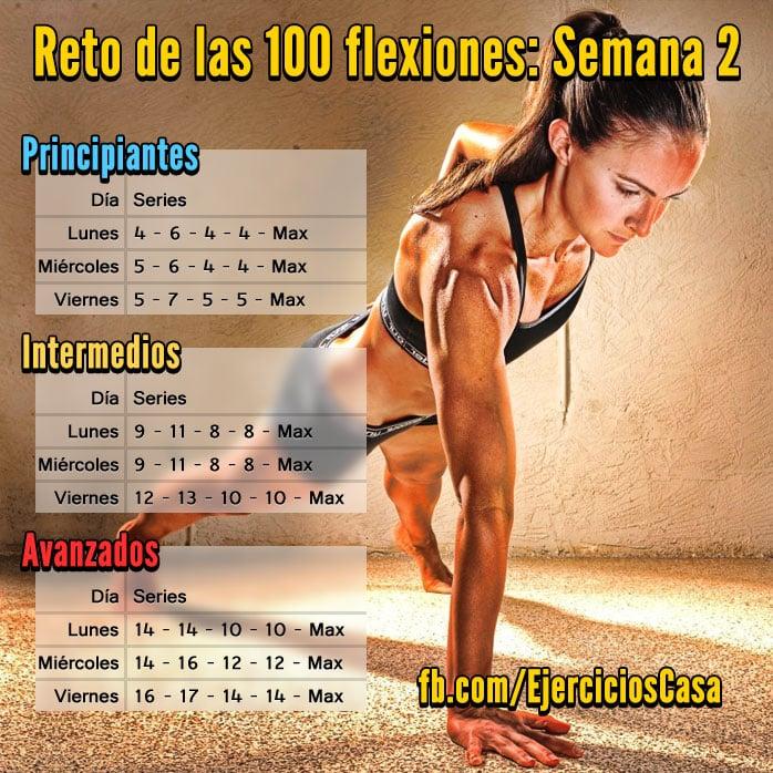 Reto 100 Flexiones Semana 2