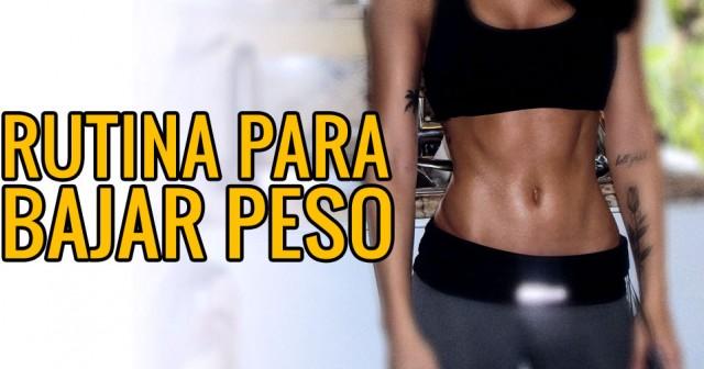 rutinas de ejercicios para hombres para bajar de peso