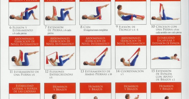Ejercicios de pilates en casa ejercicios en casa - Como hacer pilates en casa ...