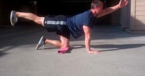 bird dog ejercicio