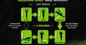 Rutina de ejercicios de calistenia
