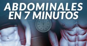 Abdominales en 7 minutos