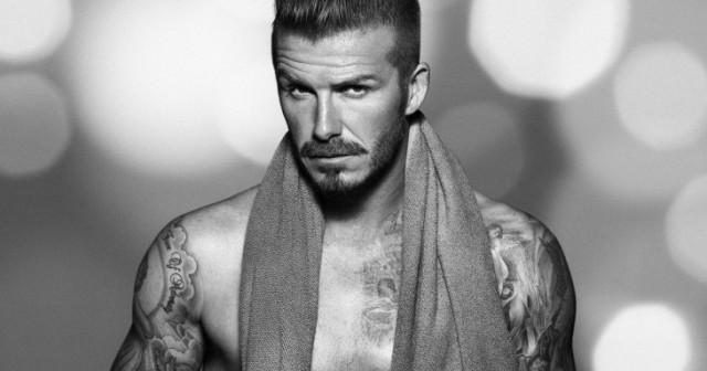 entrenamiento de David Beckham