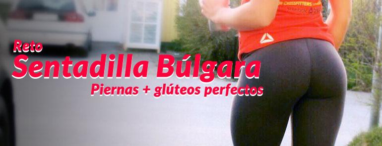 Desafio sentadilla bulgara