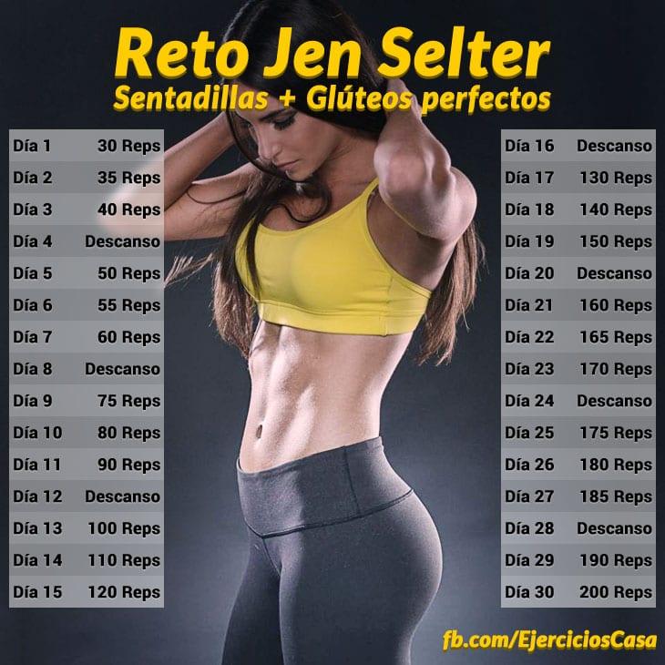 Reto Jen Selter gluteos perfectos