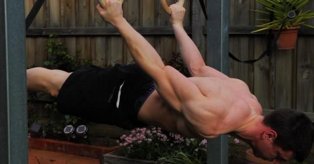 back lever ejercicio