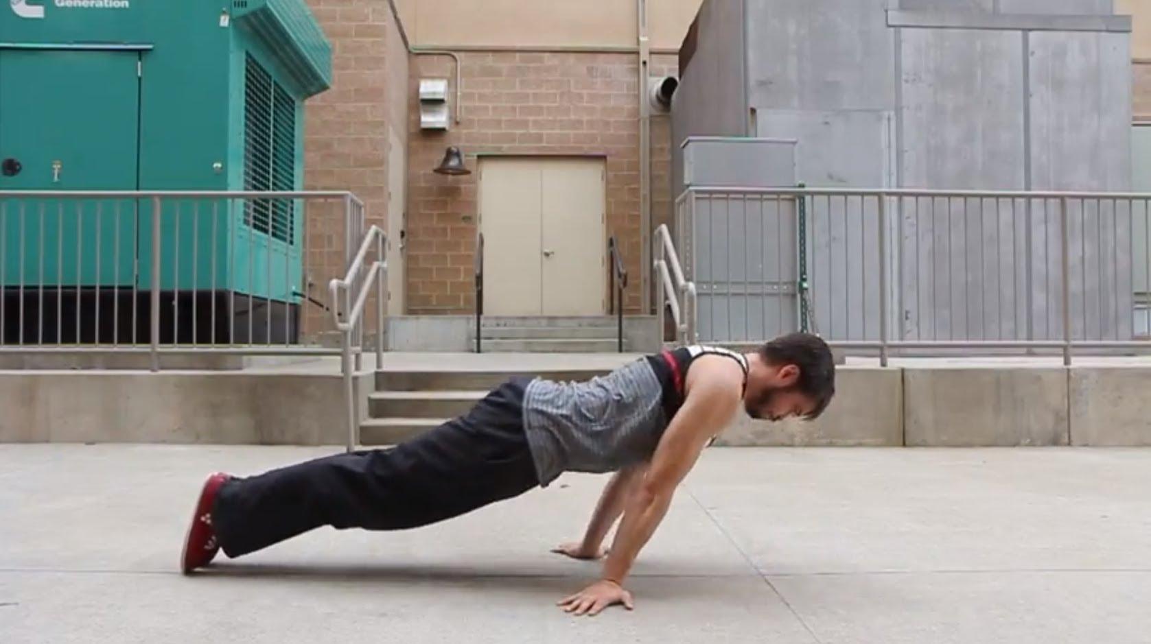 Flexiones pseudo planché
