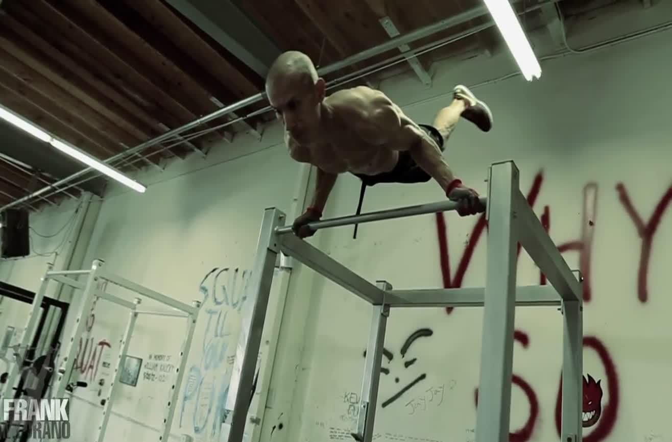 entrenamiento de Frank Medrano