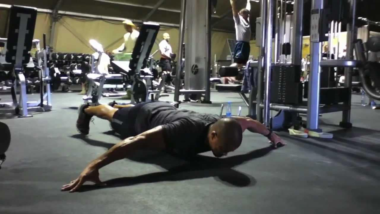flexiones para avanzados