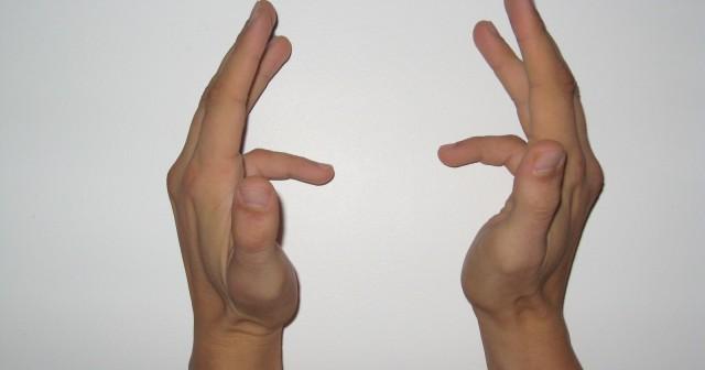 Ejercicios para dedos