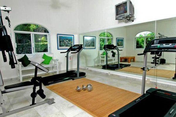 C mo hacer un gimnasio en casa con bajo presupuesto - Casa con gimnasio ...