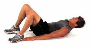 abdominales toque al talón