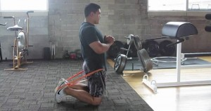 sentadilla de rodillas