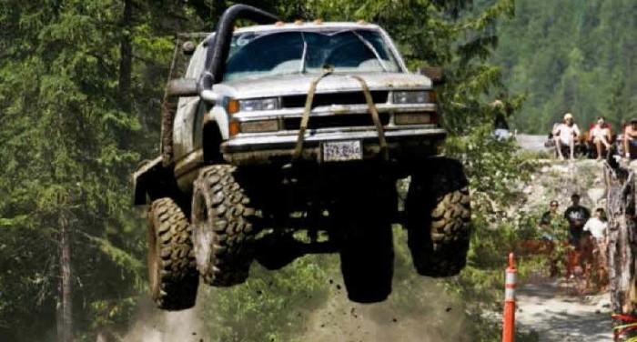 salto del camión