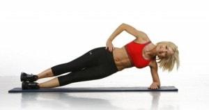 plancha lateral con movimiento de cadera